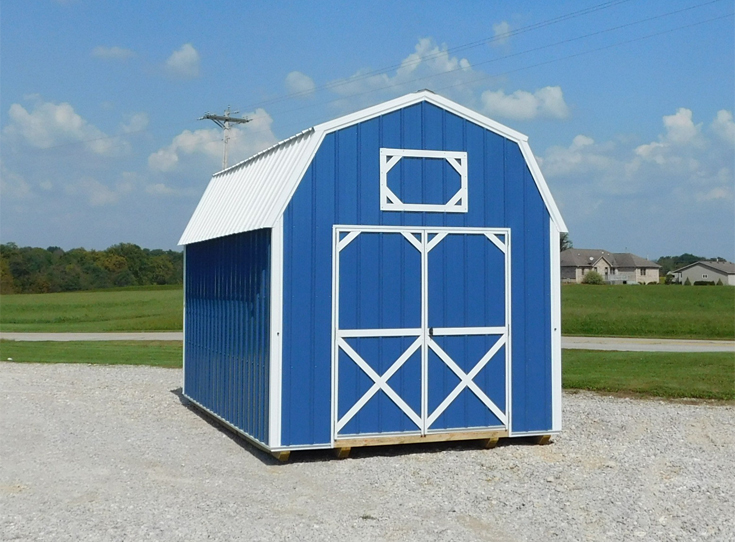 photo of Vinyl Lofted Garden Barn